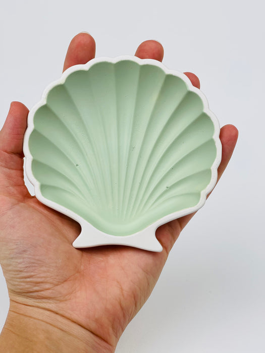 Sea Shell Plate - Mint