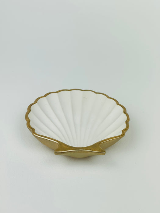 Sea Shell Plate - Gold