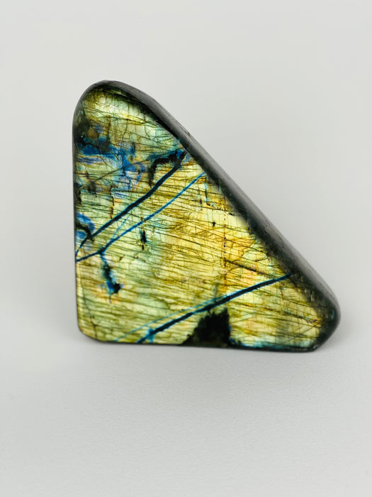 Labradorite - Yellow Vein