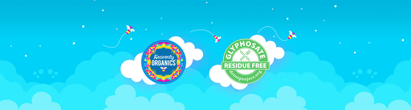 Heavenly Organics is Glyphosate Residue Free Certified!