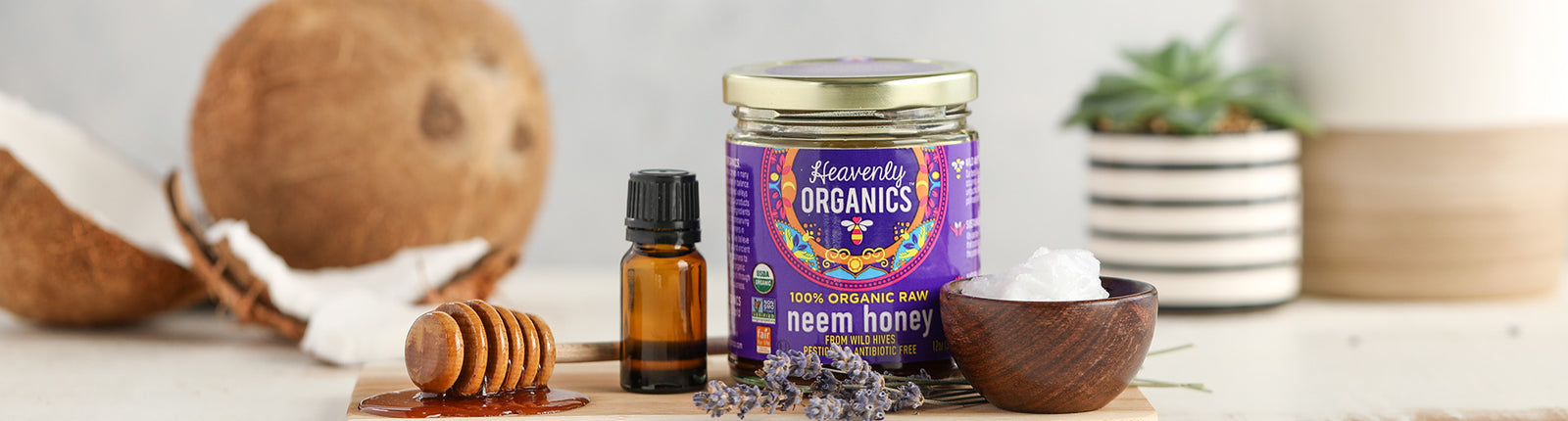 Neem Honey + Coconut Oil Face Mask