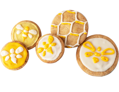Heavenly Organics Sugar cookies decoration
