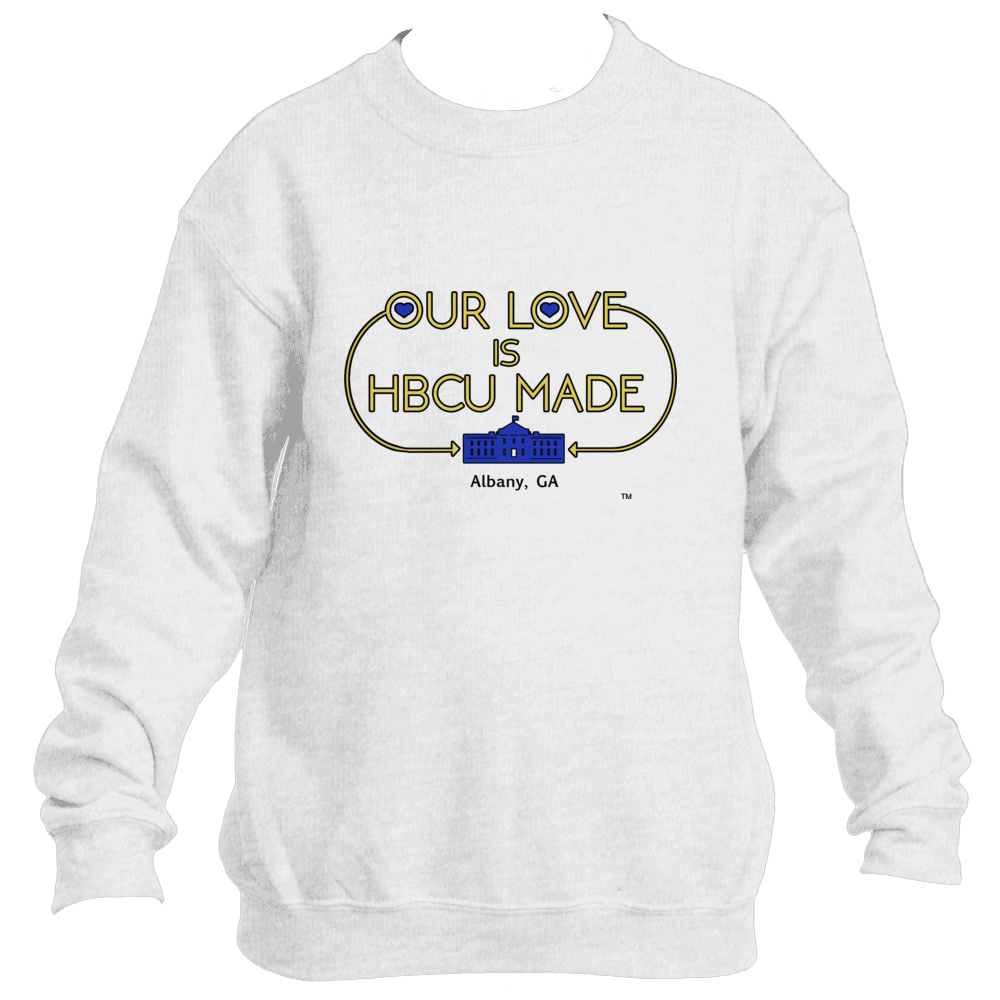 Golden Rams HBCU Made Love  Sweatshirt *Unisex*