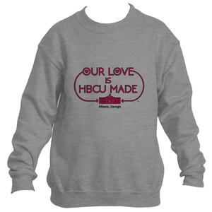 Maroon Tigers HBCU Made Love Sweatshirt
