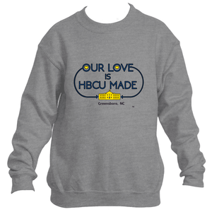Aggie HBCU Made Love Sweatshirt *Unisex*