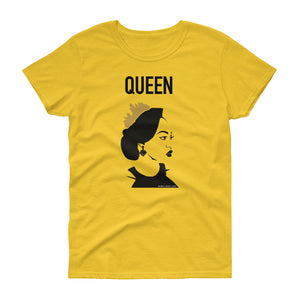 Black Queen to his King tee (Ladies)