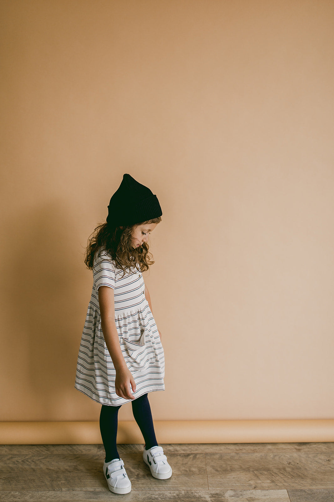 meadow dress | vintage stripes