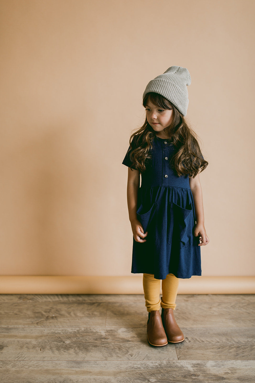 meadow dress | navy