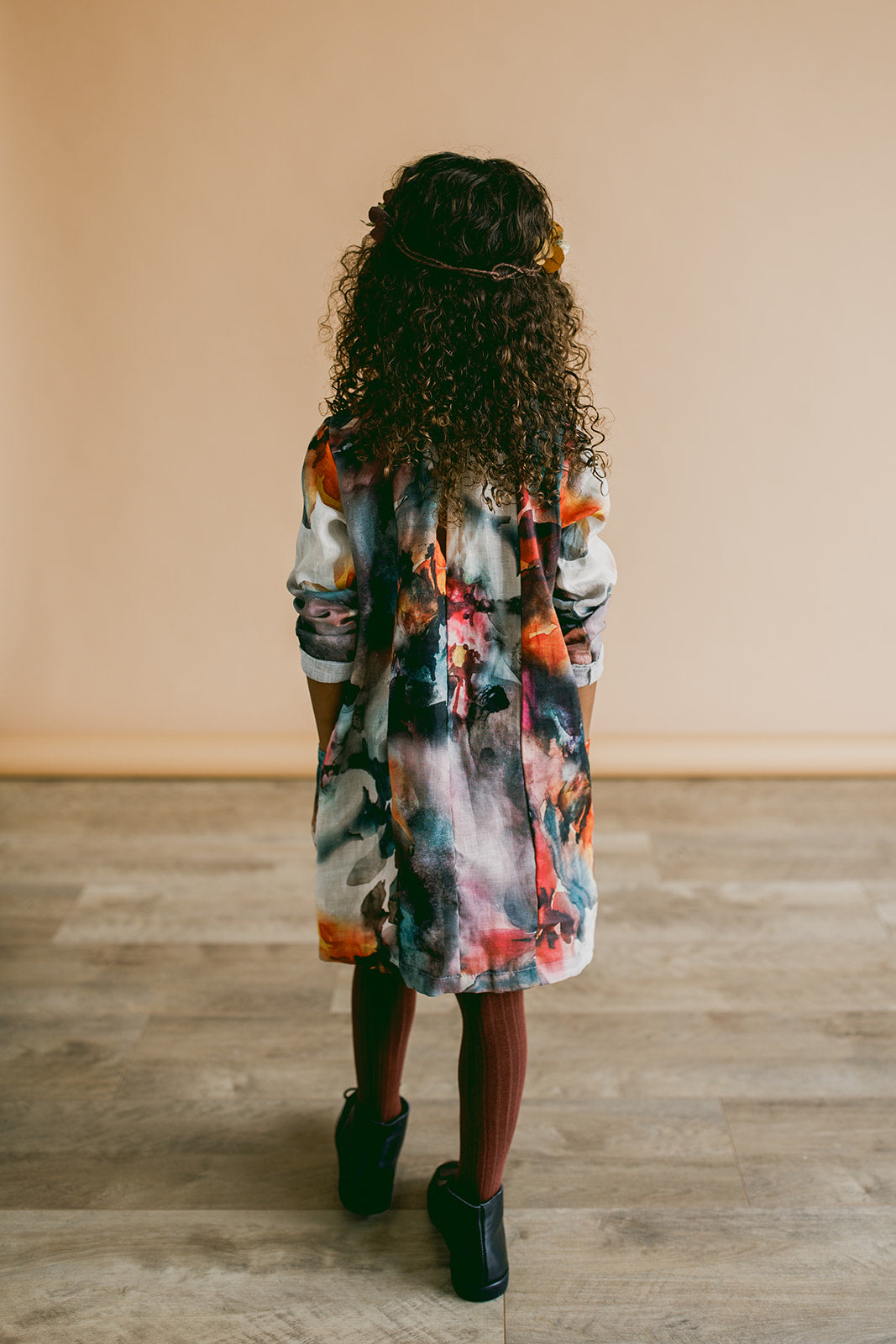 smock dress | whimsy floral