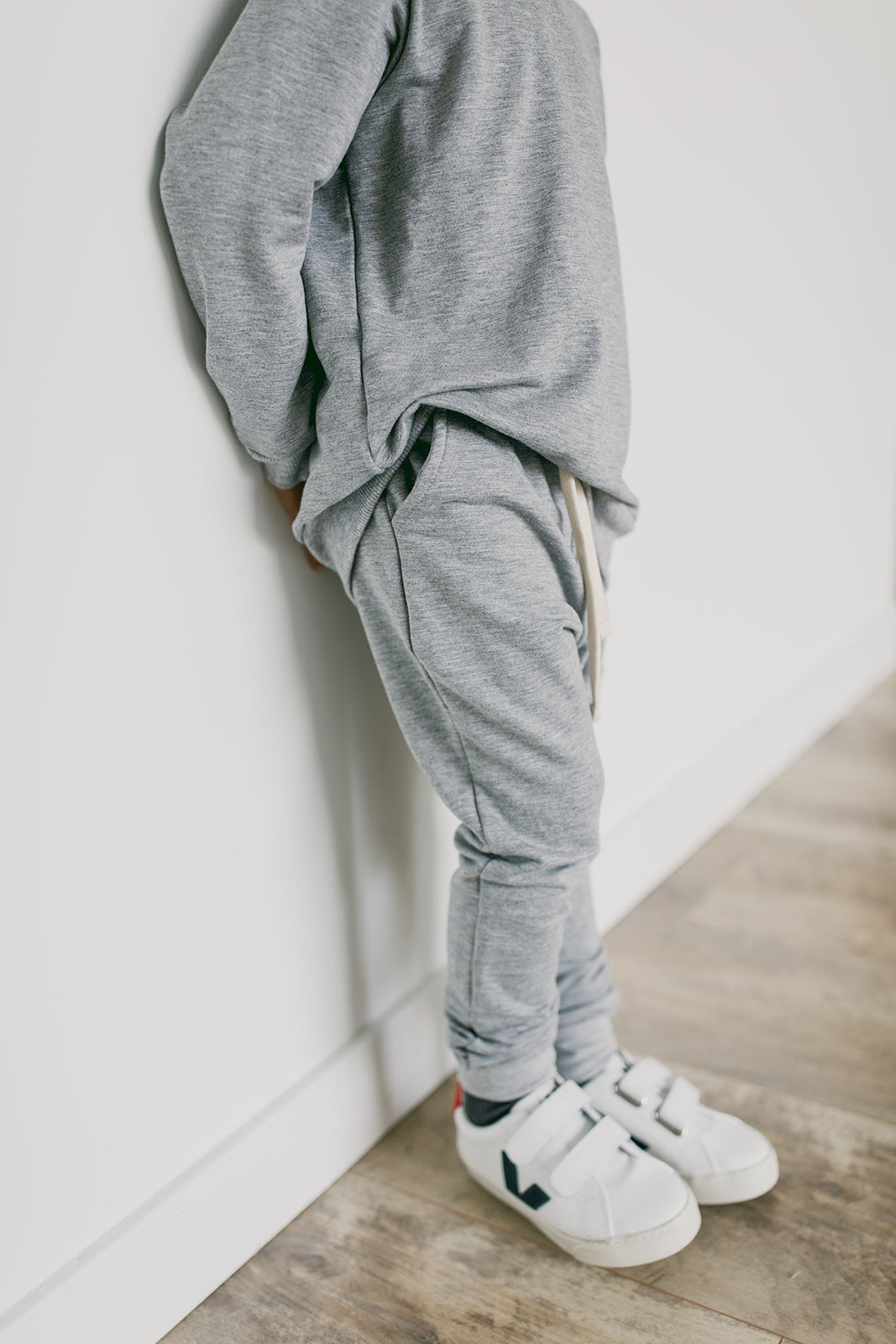 joggers | heather grey