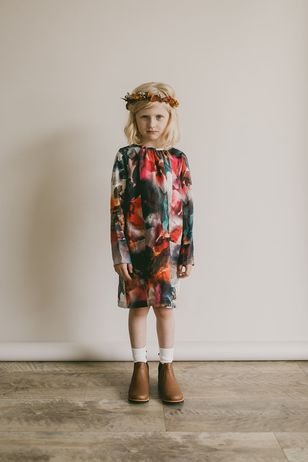 smock dress | whimsy floral *pre-order*