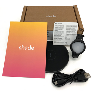 Shade wearable UV sensor