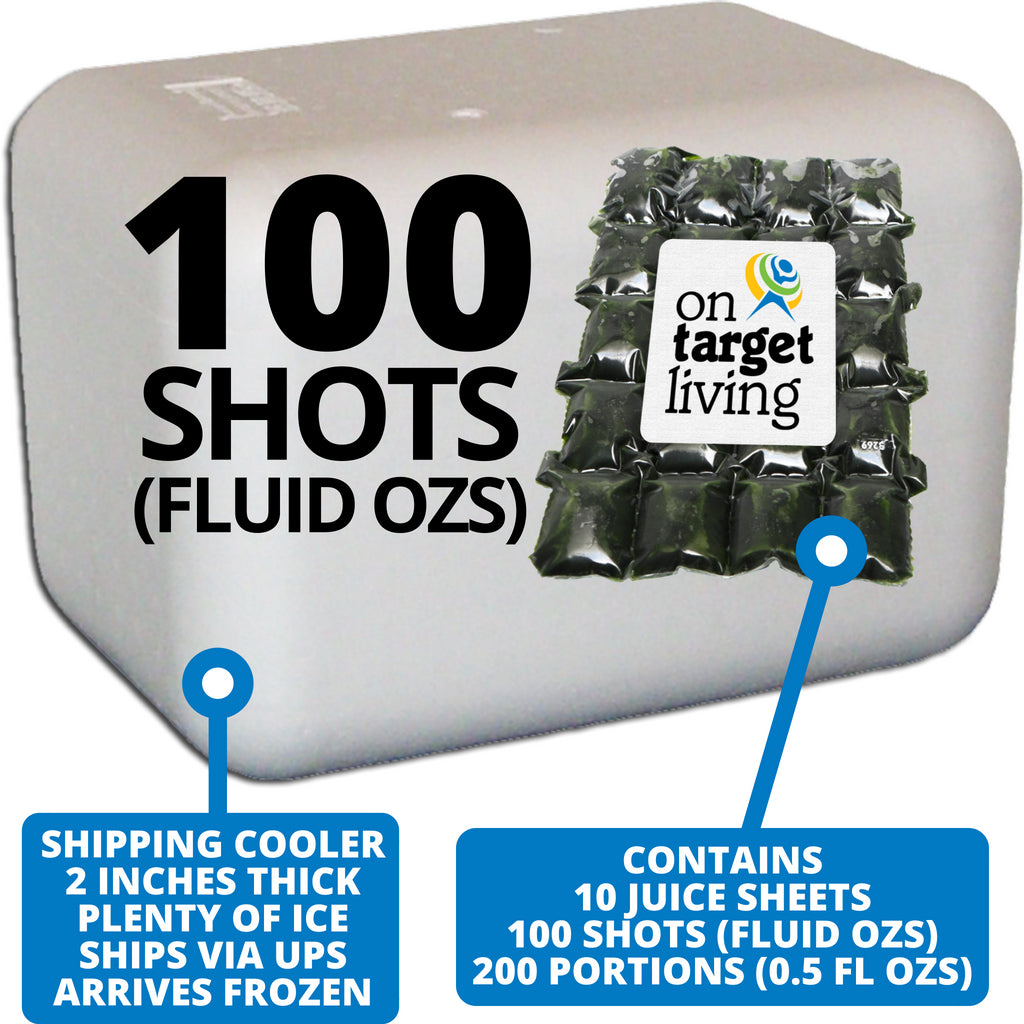 Frozen Wheatgrass Juice-100 FL OZS