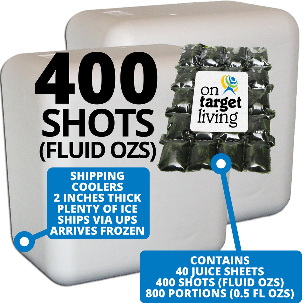 Frozen Wheatgrass Juice-400 FL OZS