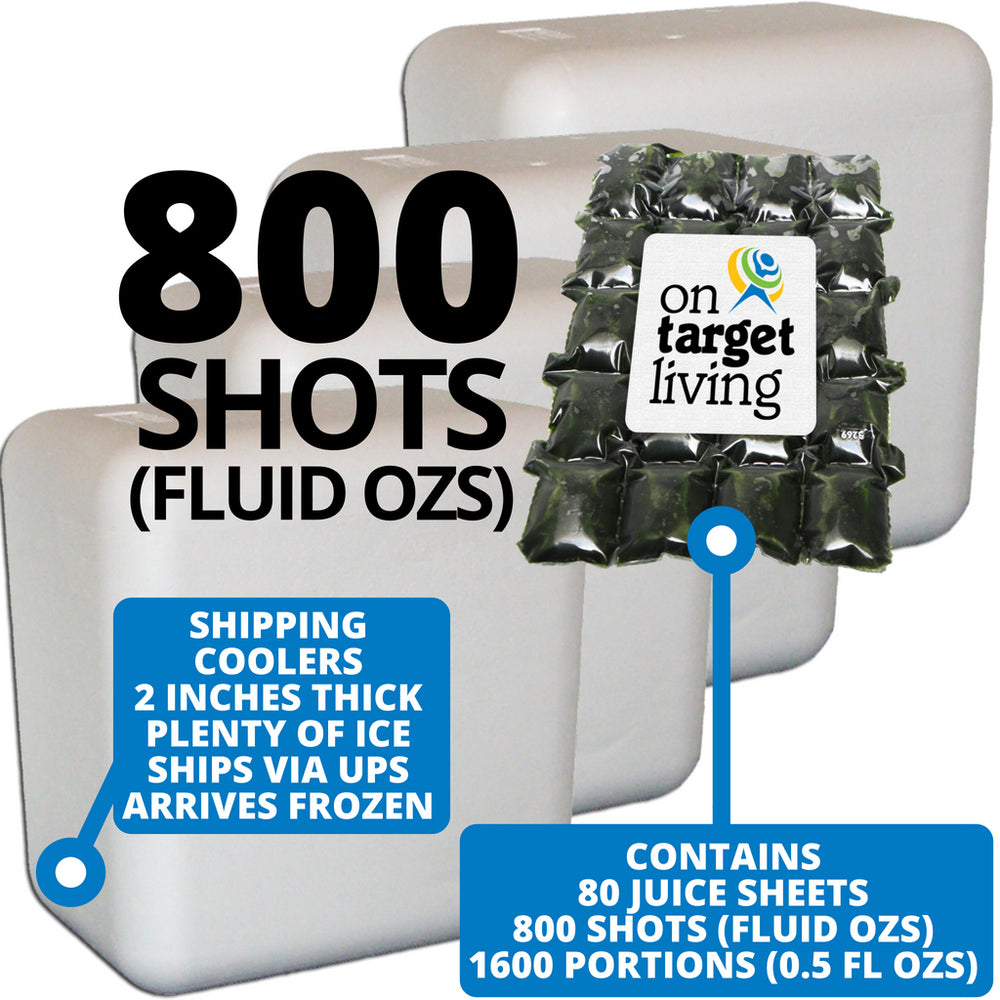Frozen Wheatgrass Juice-800 FL OZS