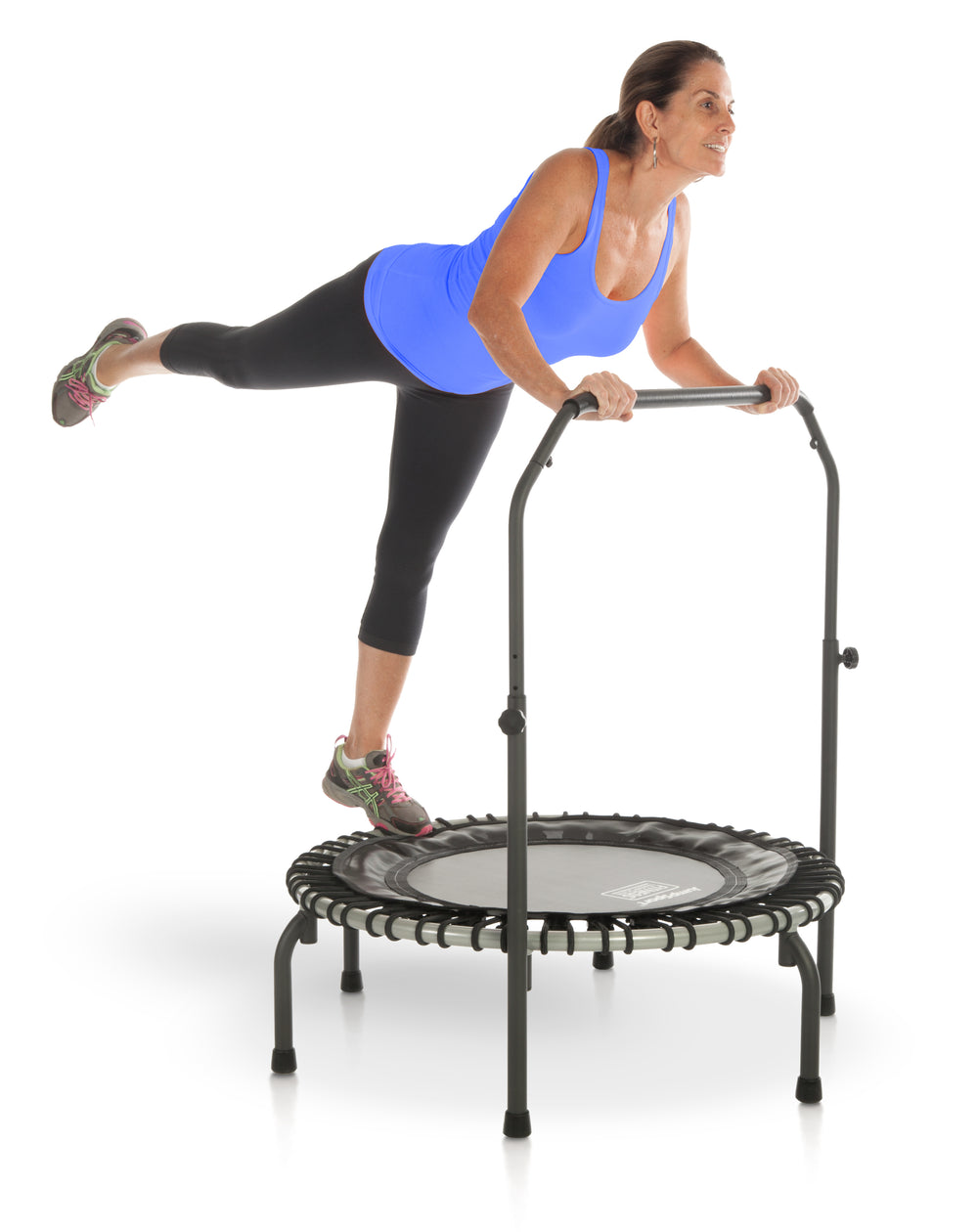 JumpSport 350 V2 Fitness Trampoline with Handle