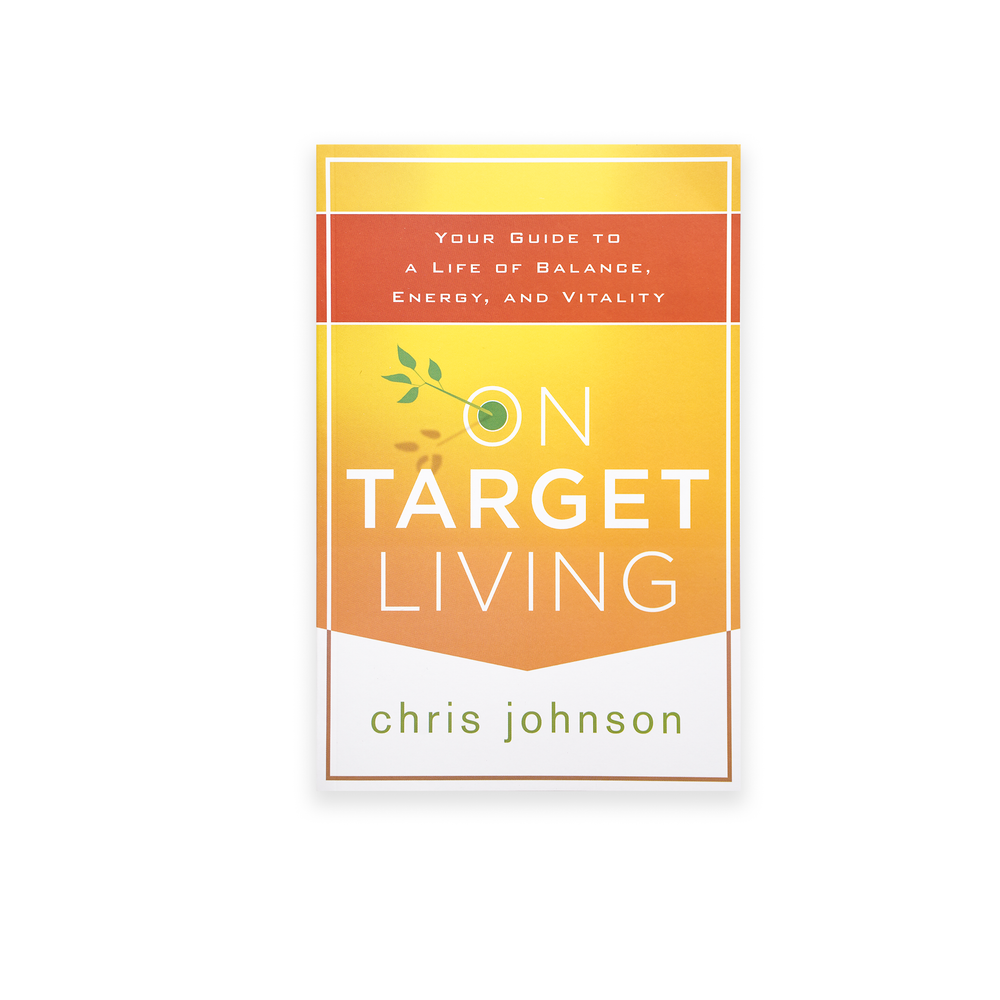 On Target Living Book By Chris Johnson
