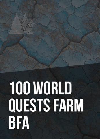 100 World Quests Farm BFA