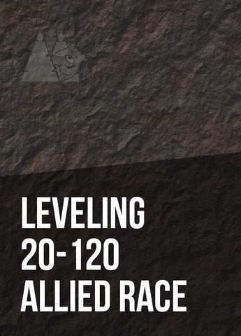 Leveling 20-120 (Allied Race)