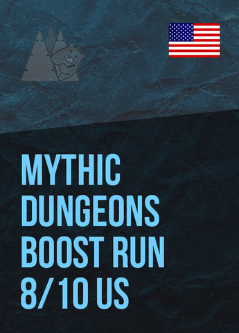 Mythic Dungeons Boost Run 8/10 US