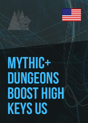Mythic+ dungeons boost high keys US