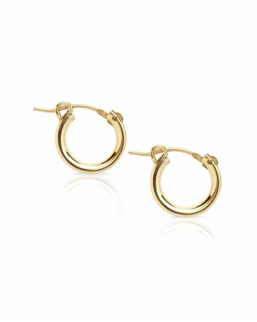 Andy 15mm Classic Hoops - OHZO JEWELLERY BY J