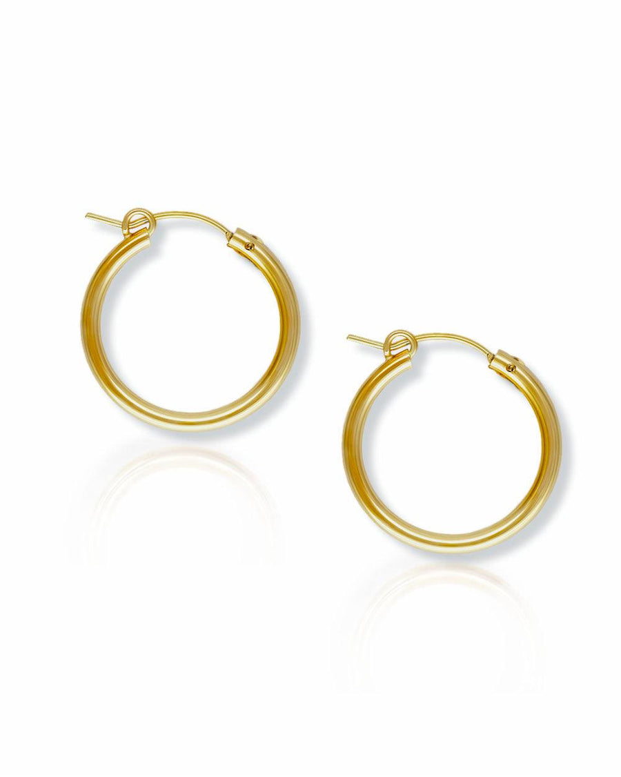 Andy 22mm Classic Hoops - OHZO JEWELLERY BY J