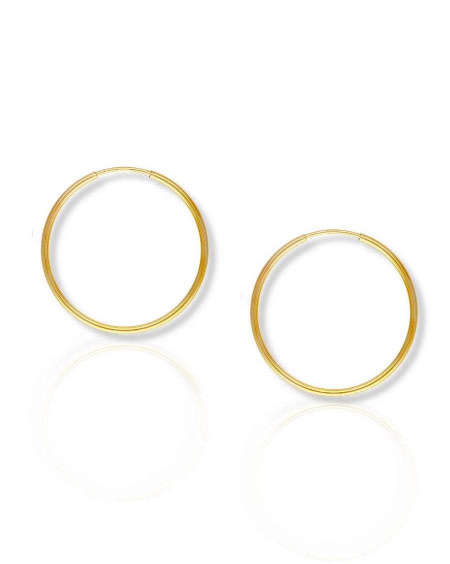 Mia 24mm Endless Hoops - OHZO JEWELLERY BY J