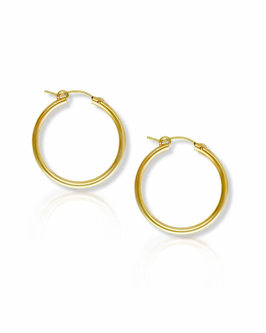 Andy 27mm Classic Hoops - THE OHZO BY J