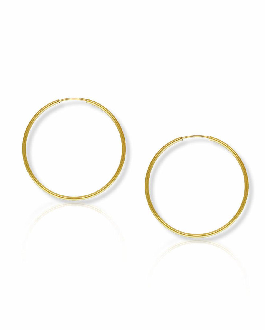 Mia 28mm Endless Hoops - OHZO JEWELLERY BY J