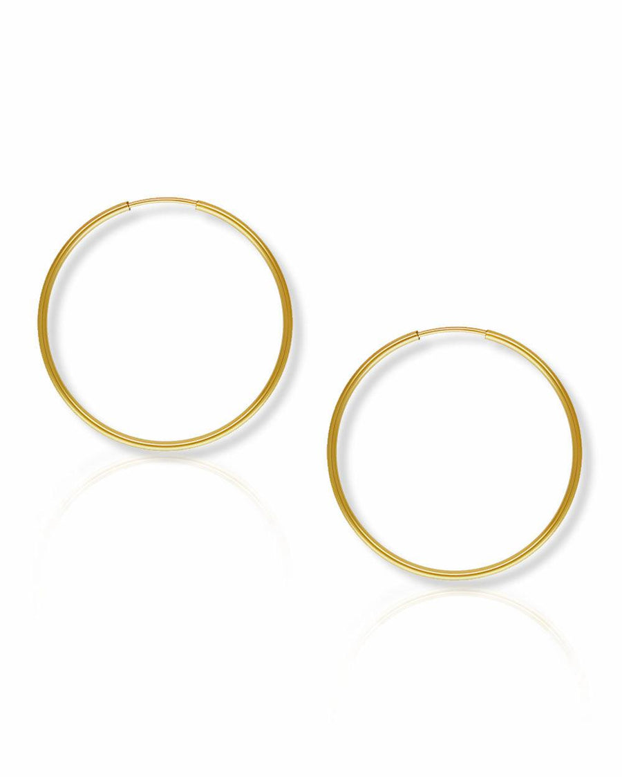 Mia 35mm Endless Hoops - OHZO JEWELLERY BY J