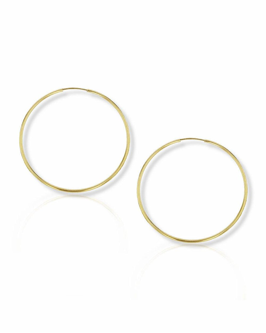 Mia 40mm Endless Hoops - OHZO JEWELLERY BY J