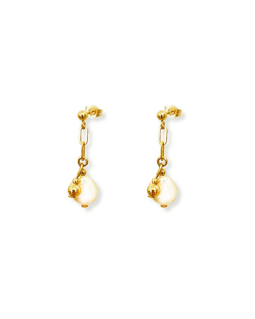 Aurora Pearl Earring - OHZO JEWELLERY BY J