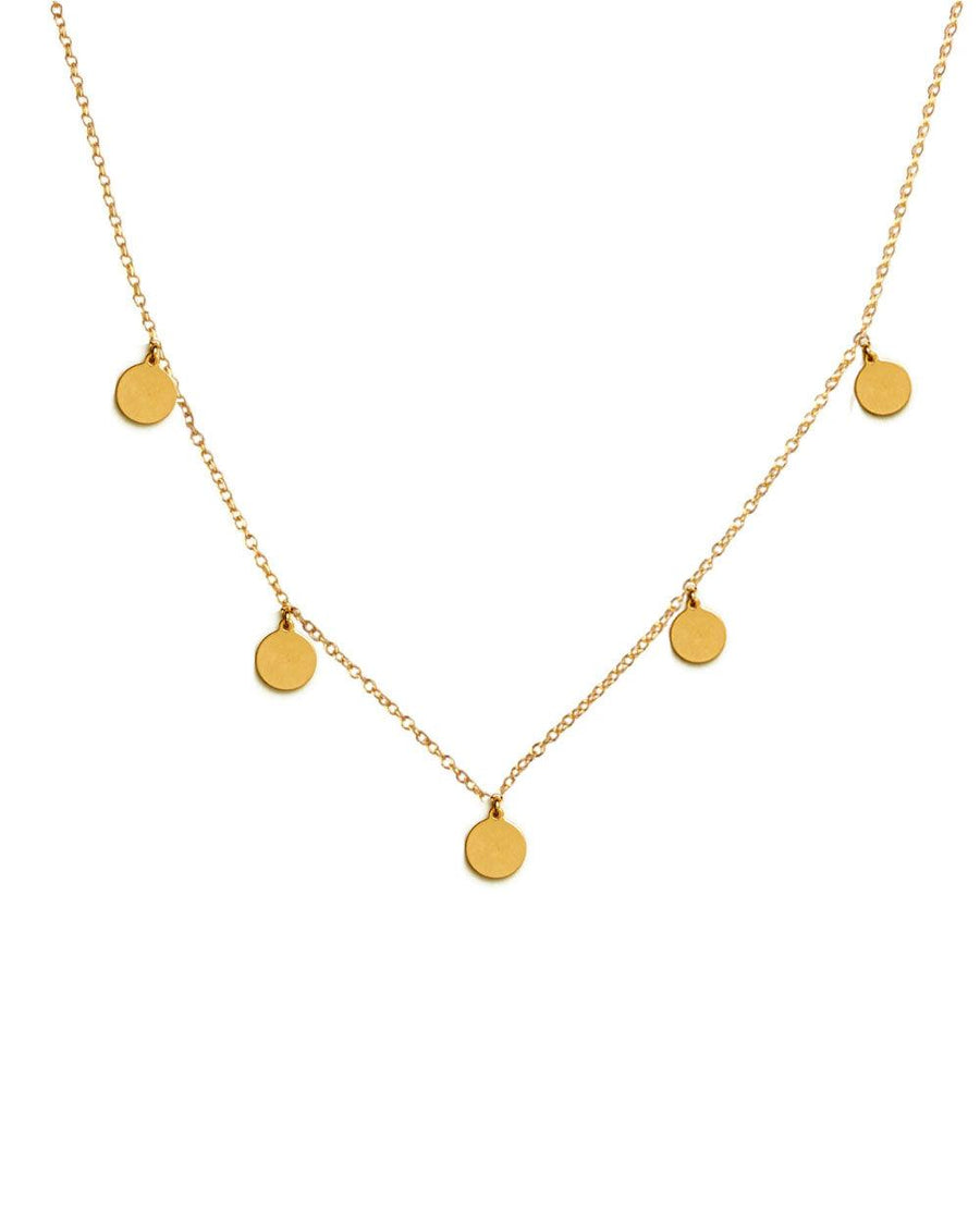 Julia Gold Coin Disc Choker - OHZO JEWELLERY BY J