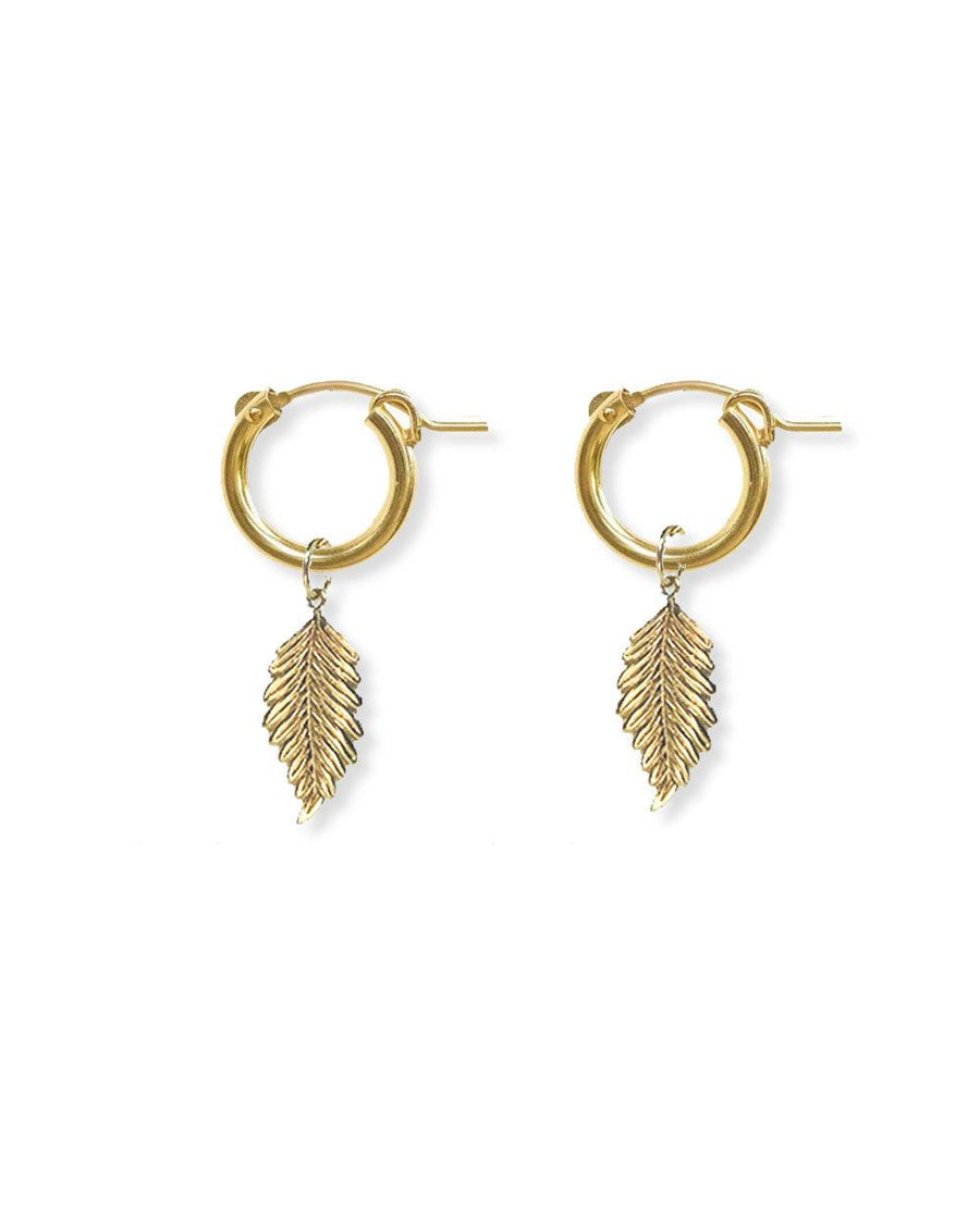 Feather Hoops - OHZO JEWELLERY BY J
