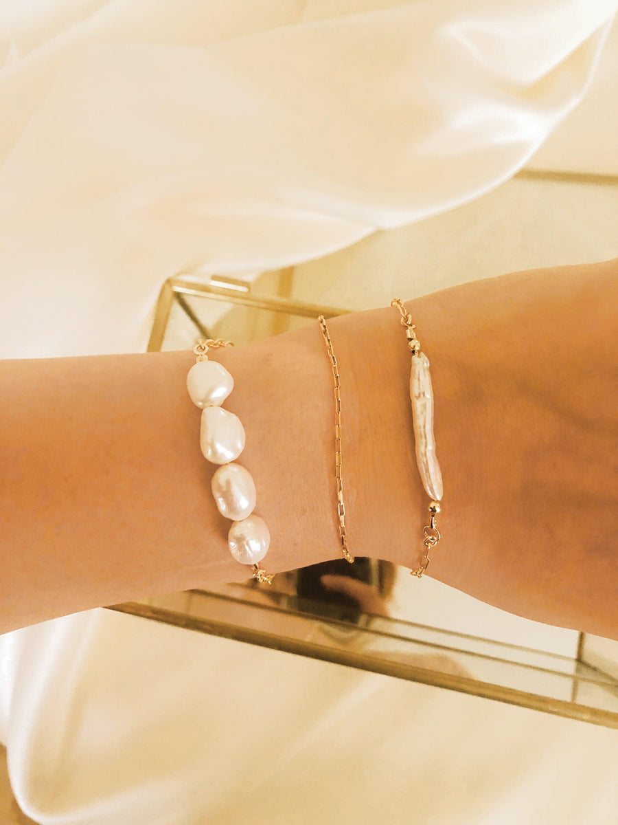 Angy Pearl Bracelet - OHZO JEWELLERY BY J