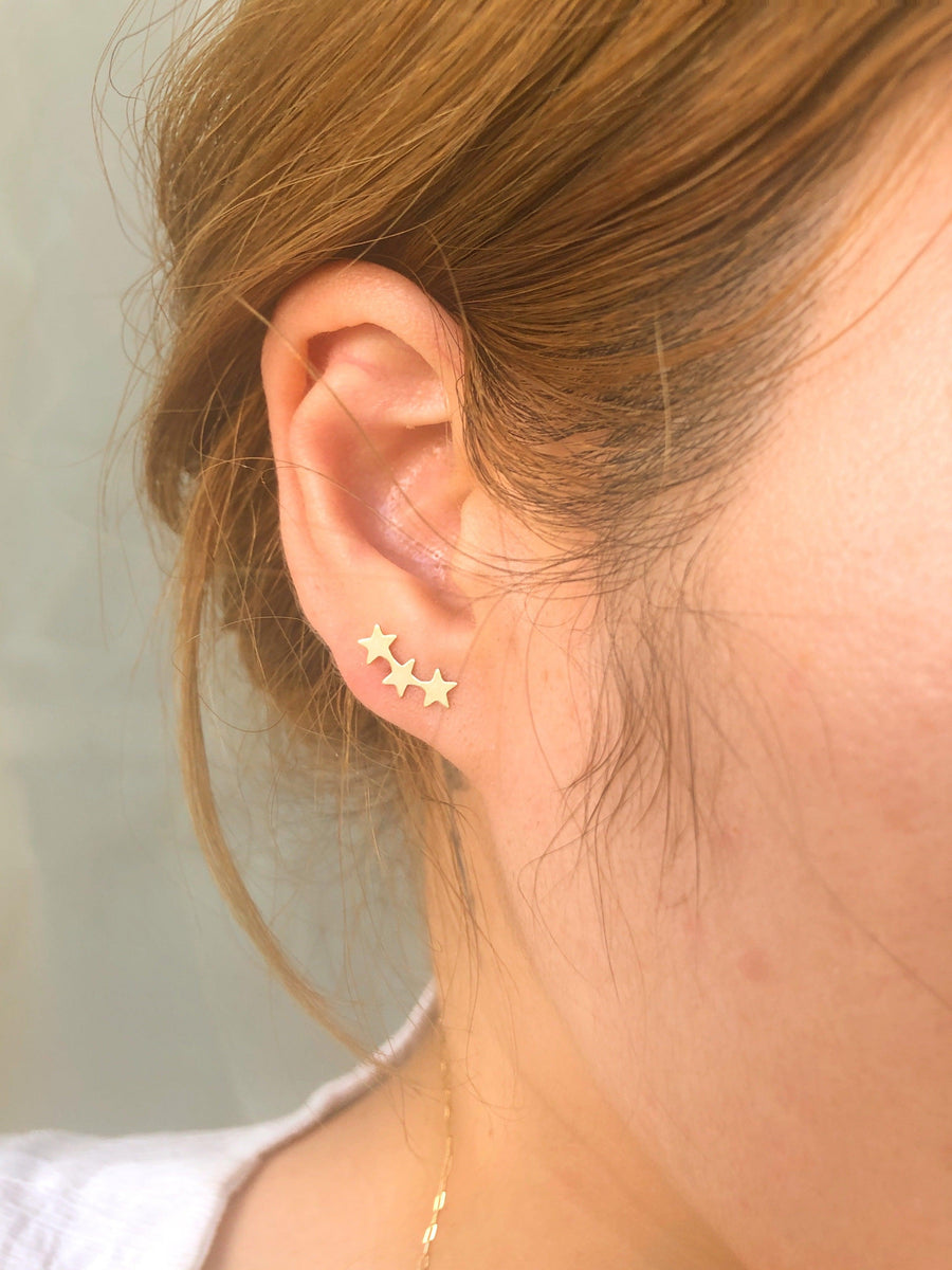 Milky way étoile Stud - OHZO JEWELLERY BY J