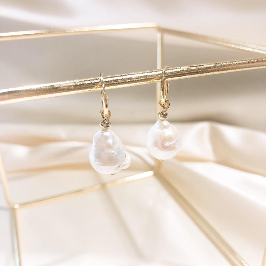 Hallie Baroque Pearl Earring - OHZO JEWELLERY BY J