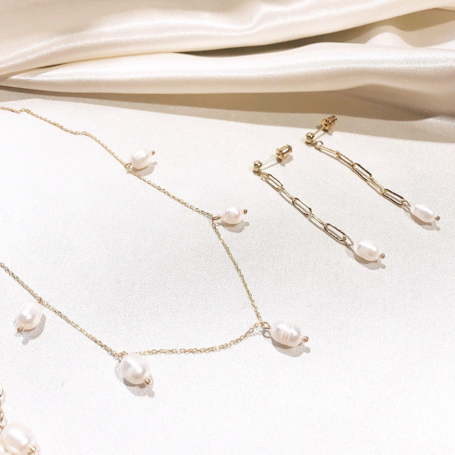 Zoe Pearl Necklaces - OHZO JEWELLERY BY J