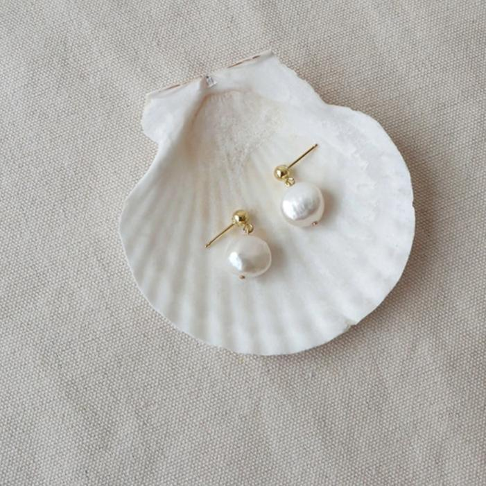 Titany Freshwater Pearl Earring - OHZO JEWELLERY BY J