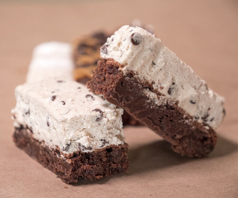 Cookie Dough Brownie Bar