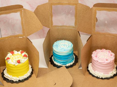 Employee Appreciation - Mini Lunchbox Cake Deliveries