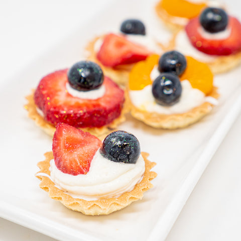 6 Fresh Fruit Tarts