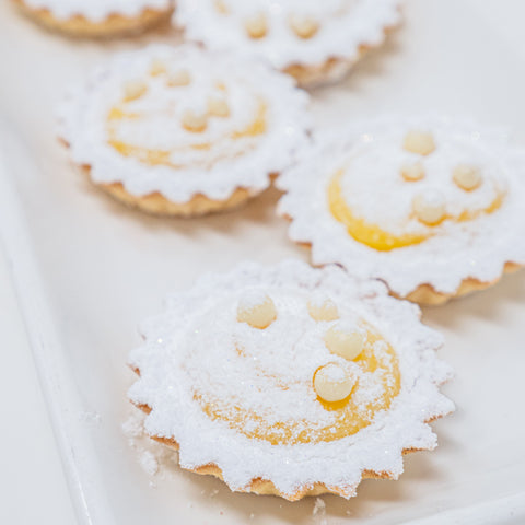 6 Lemon Curd Tarts