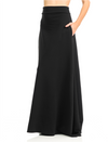 Super Maxi Skirt w/ Pockets (Black)