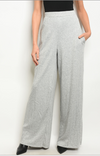 Zendaya Wide Leg Pants (Oatmeal)