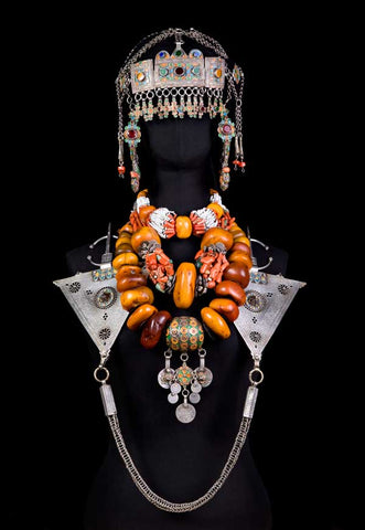 traditional berber style jewelry