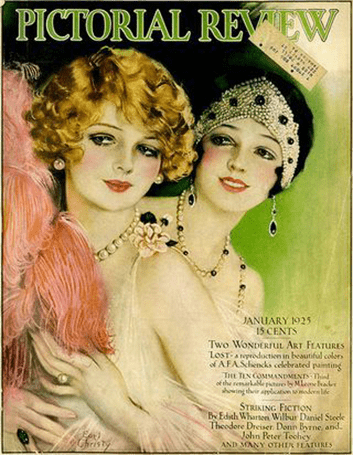 cover for pictorial review magazine