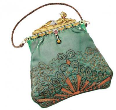 Egyptian odalisque evening bag. Made by Van Cleef & Arpels, circa 1927