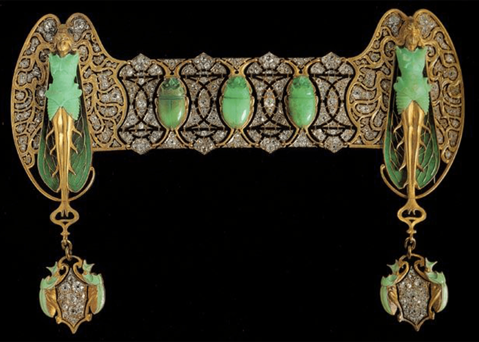 brooch by Rene Lalique